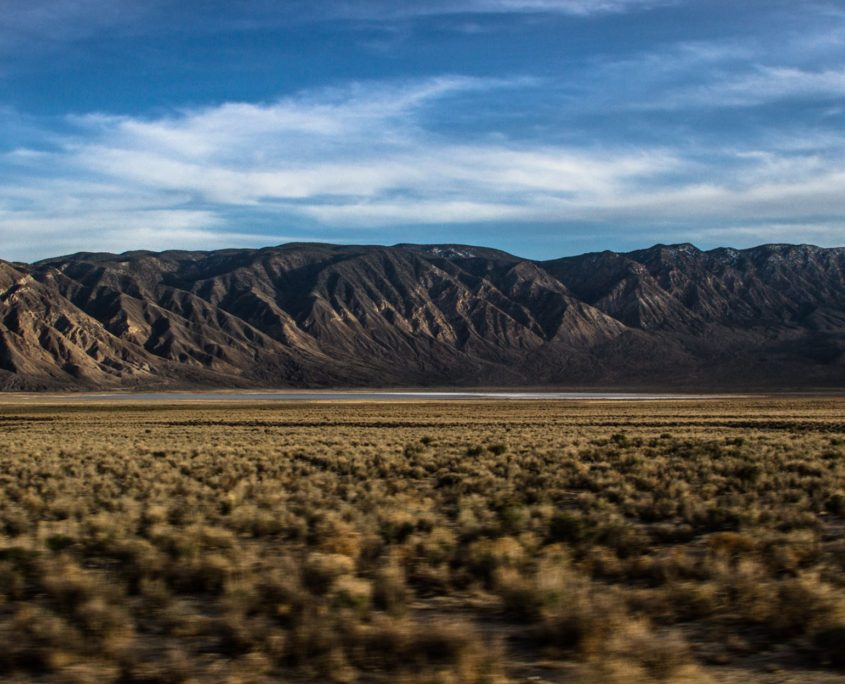 Deep Springs area along 168